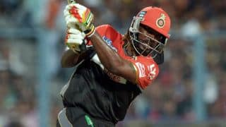 Chris Gayle scores 9,000 T20 runs in IPL 2016 Final