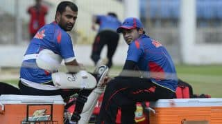 Tamim Iqbal, Mushfiqur Rahim doubtful for 1st T20I against Sri Lanka