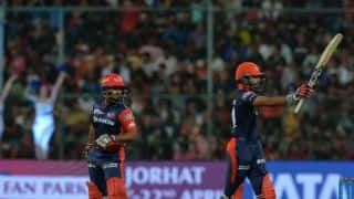 Pant, Iyer fifties help DD register 174/5 against RCB at Chinnaswamy