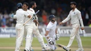India's victory at Lord's: Parallels with England's triumph at Mumbai in 2012