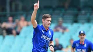 Chris Woakes 4-for helps England restrict Pakistan to modest 208 in third ODI at Sharjah