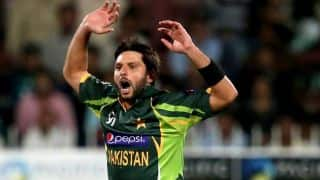 Shahid Afridi will remain Pakistan captain until the end of ICC World T20 2016, says Shahryar Khan
