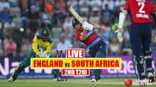LIVE Cricket Score, ENG vs SA 2017, 2nd T20I: ENG win toss & field