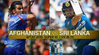 SL 155/4 | Live Cricket Score, Sri Lanka vs Afghanistan, T20 World Cup 2016 SL vs AFG, 16th T20 Match at Kolkata: Dilshan guides Sri Lanka to victory