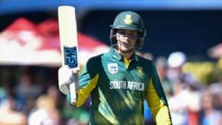 Quinton de Kock credits Neil McKenzie following hundred against Bangladesh in 1st ODI
