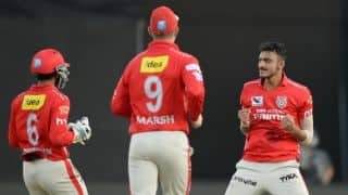 Akshar Patel's hat-trick allows KXIP to register 23-run win over GL in IPL 2016