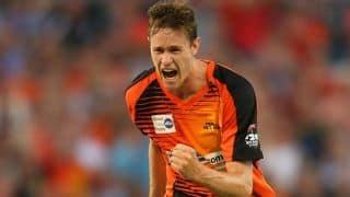 Behrendorff happy about 3-wicket haul against NSW