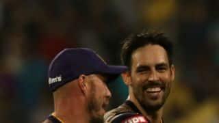 IPL 2018: KKR to play Mitchell Johnson against SRH