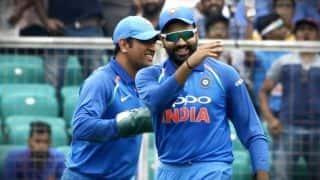 Rohit Sharma misses Mahendra Singh Dhoni's presence