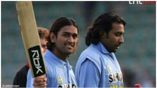 On this day MS Dhoni won his first Man of the series award in 2005