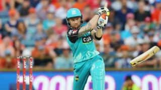 Big Bash League: Matt Renshaw star as Brisbane Heat wins over Adelaide Strikers