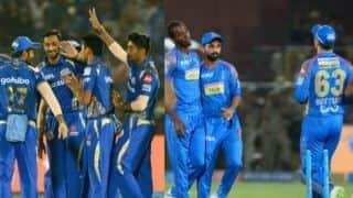 IPL 2018, MI vs RR, Match 47, Full Cricket Score and Updates