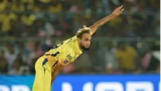 ताहिर ने शानदार गेंदबाजी का श्रेय कप्तान धोनी को दिया