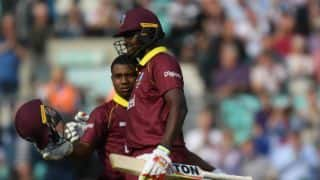 Evin Lewis smashes 176, powers West Indies to 356-5 against England in 4th ODI