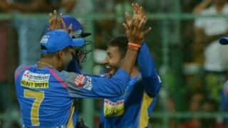 IPL 2018: Shreyas Gopal's career best figures help Rajasthan Royals beat Royal Challengers Bangalore