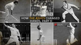 A history of Ashes: How the urn changed hands, Part 3 of 4, pace like fire