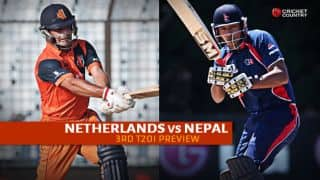 Netherlands vs Nepal 2015, 3rd T20I at Rotterdam Preview: Hosts eye series victory over demoralised Nepal