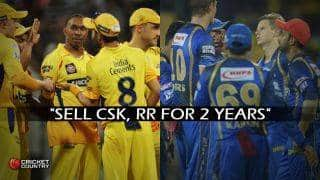 BCCI suggests selling CSK and RR for 2 years to Lodha Committee