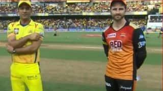 IPL 2018 Final: Big confusion during toss as MS Dhoni trolls Sanjay Manjrekar