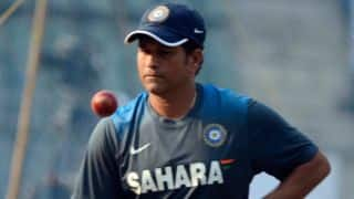 Sachin Tendulkar celebrates 43rd birthday by playing cricket with children from Make-A-Wish India NGO