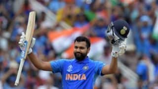 On this day in 2017 IND vs SL : 100 off 35 balls, Rohit Sharma blasts joint-fastest ton in Indore T20