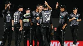 Only T20I: Bracewell, Kuggeleijn star to keep Sri Lanka winless in New Zealand