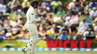 Australia dominate as Martin Guptill departs leading New Zealand to 43 for 1 at Tea on Day 3