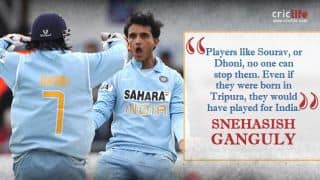 Sourav Ganguly second-most talented cricketer after Sachin Tendulkar: Snehasish