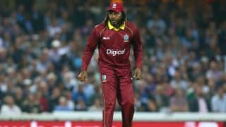 Gayle denies exposing himself to massage therapist