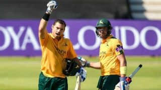 When Nottinghamshire beat Northamptonshire by 20 runs in a mind-boggling run-fest