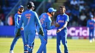 Cricket World Cup 2019: New Zealand opt to bat; India drop Kuldeep for Chahal
