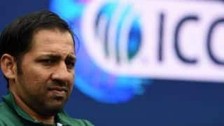 Cricket World Cup 2019 – My wife cried after watching the video of pig jibe: Sarfaraz Ahmed