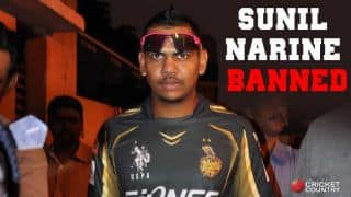 Sunil Narine banned by BCCI from bowling off-spin in IPL 2015