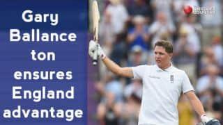 India vs England 2014, 3rd Test at Southampton: Gary Ballance, Alastair Cook ensure advantage on Day 1