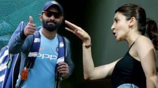 After Completing Kohli's challenge Anushka Sharma challenged dinesh karthik's wife Dipika Pallikal