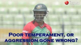 Tamim Iqbal's bad form is mixture of poor temperament and aggression gone wrong