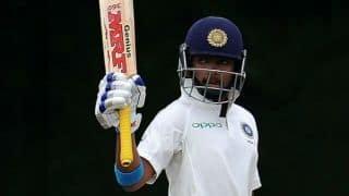 टेस्ट में अर्धशतक बनाने वाले सबसे युवा भारतीय बने पृथ्वी शॉ