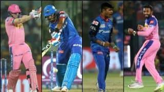राजस्थान-दिल्ली मुकाबले में इन खिलाड़ियों पर रहेगी नजर