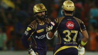 KKR peaking at the right time, says Karthik