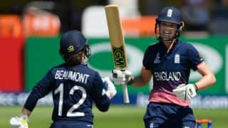 WWC17: Beaumont, Taylor's blistering knocks seal ENG's win over SAW