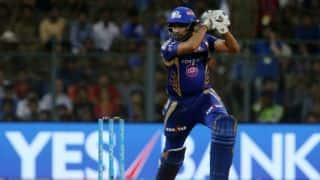 """IPL 2017: """"We want to finish on top,"""" says Rohit after MI beat RCB in Match 38"""