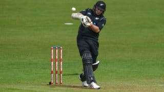Latham's maiden ton as skipper powers NZ to 344 for 6 vs IRE in 5th ODI of Tri-Nation series