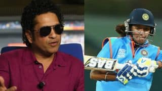 Sachin Tendulkar's letter got Harmanpreet Kaur a job in Western Railways