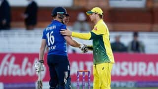 Steven Smith: Australia shaken after Eoin Morgan suffered a blow to his head