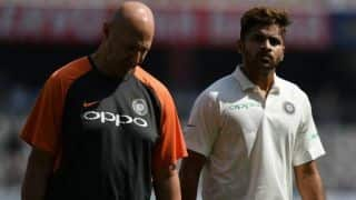 Shardul Thakur sidelined for six-seven weeks from international cricket