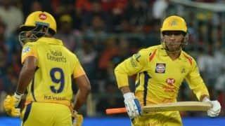 राजस्थान ने टॉस जीतकर चेन्नई को पहले बल्लेबाजी का दिया मौका