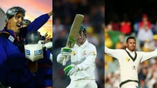 Handscomb's heart-warming maiden fifty, Benaud's 'impersonators' sums up the day