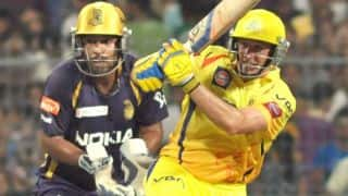 Top five encounters between CSK and KKR