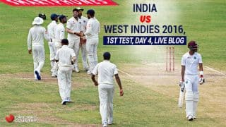 IND win by an innings & 92 runs | IND vs WI Live Cricket Score, 1st Test at Antigua, Day 4