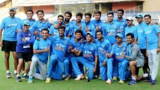 India U-19 clinch ODI series 3-1 vs England U-19 after 5th match ends in a tie